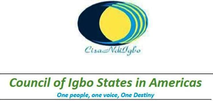 The Council of Igbo States in Americas (CISA) congratulates Igbo World  Assembly (IWA) | Ohana Eze Ndi Igbo Cameroon